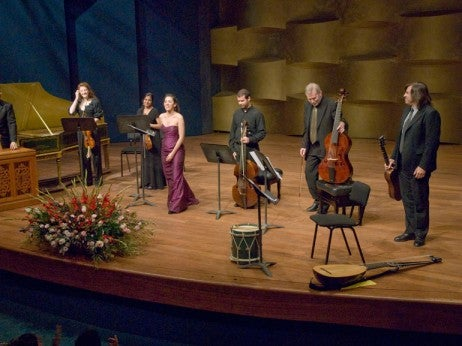 Clemat is Ensemble performing at the Felicja Blumenta l Internat ional Music Festival 2011