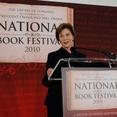 Laura Bush at the National Book Festival