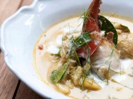 Blue Swimmer Crab Curry