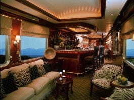 Blue Train lounge car