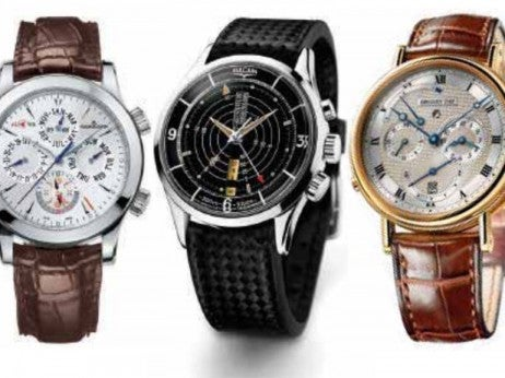 Very expensive luxury watches