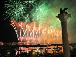 Spectacular Fireworks Display