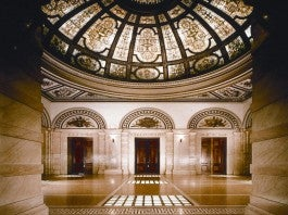Republic Rotunda Credit City of Chicago