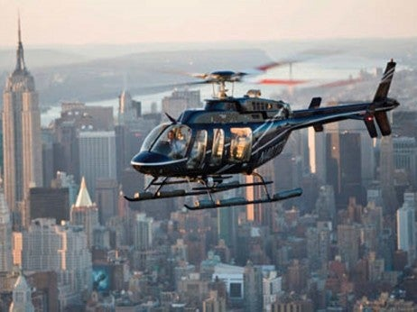 Helicopter in New York