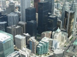 View Of Buildings in Toronto