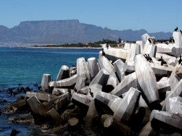 View from Robben-Island