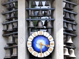 Famous Clock on Bahnhofstrasse