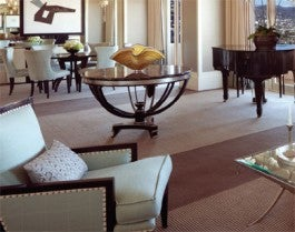 Presidentia Suite East in Four Seasons Hotel Los Angeles At Beverly Hills