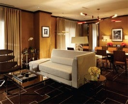 the barrymore penthouse Suite