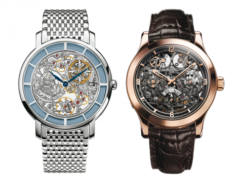 Patek Philippe Reference 5180 & Jaeger-LeCoultre Master Eight Days Perpetual SQ