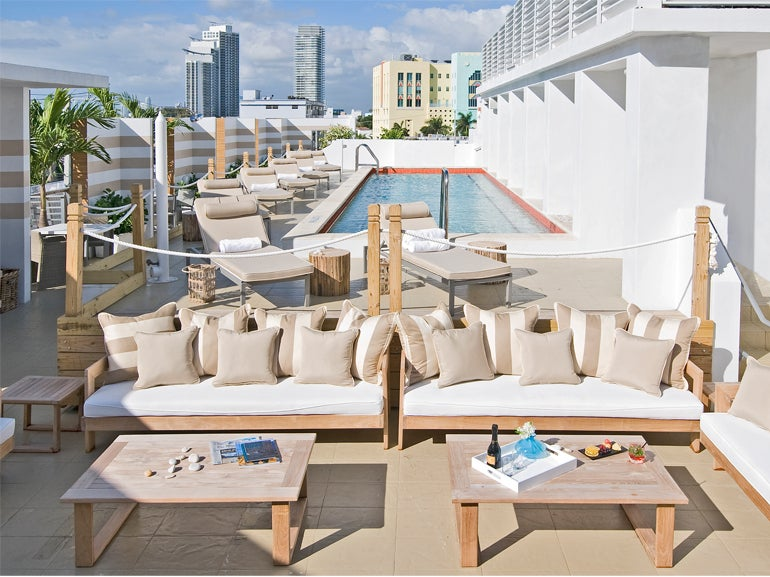 Rooftop At Sense Beach House