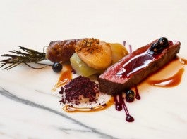 Food at The Ledbury