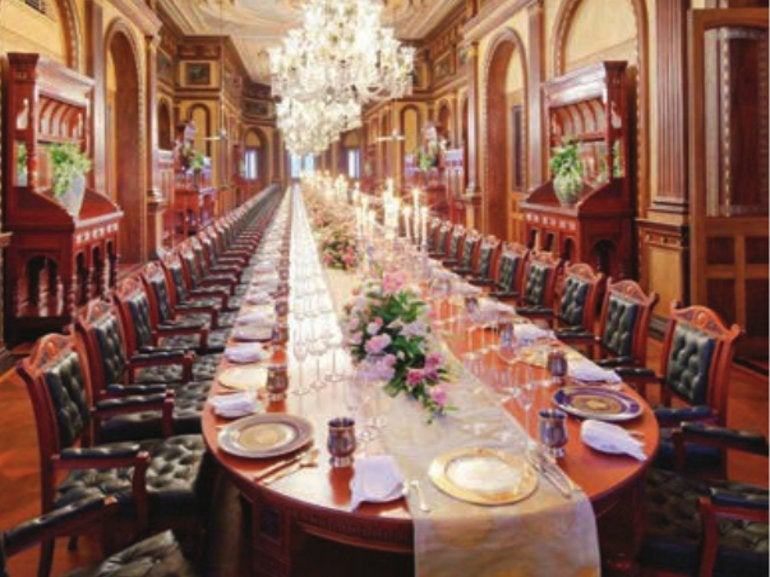 Private Dining At Adaa Elite Traveler