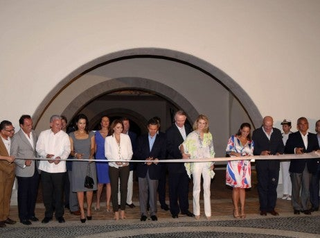 Secrets Puerto Los Cabos resort ribbon cutting