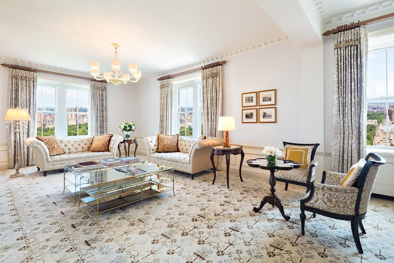 The pierre a taj hotel new york reveals diwali for Sitting room suites