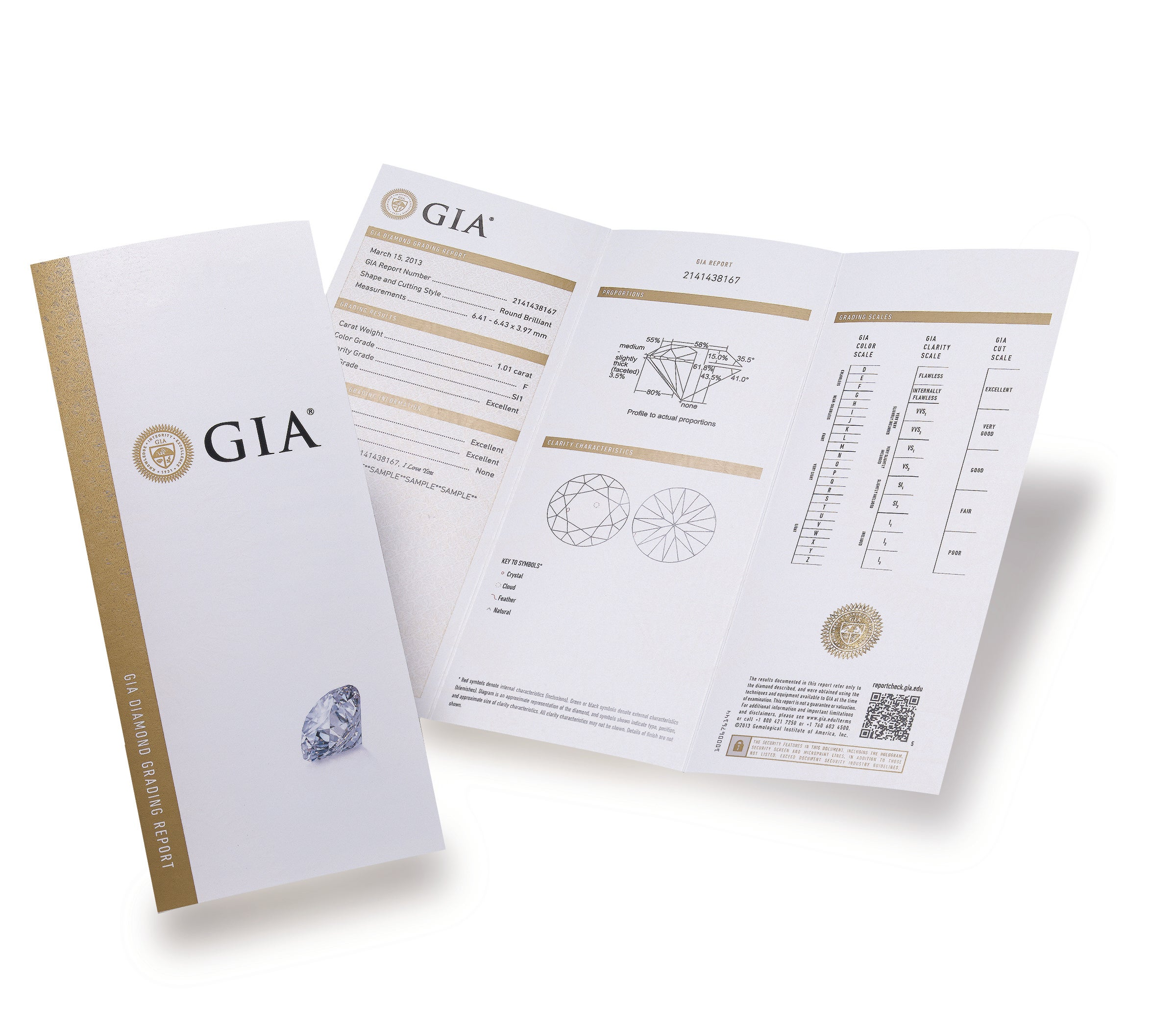 A Gia Diamond Report Helps You Ask The Right Questions