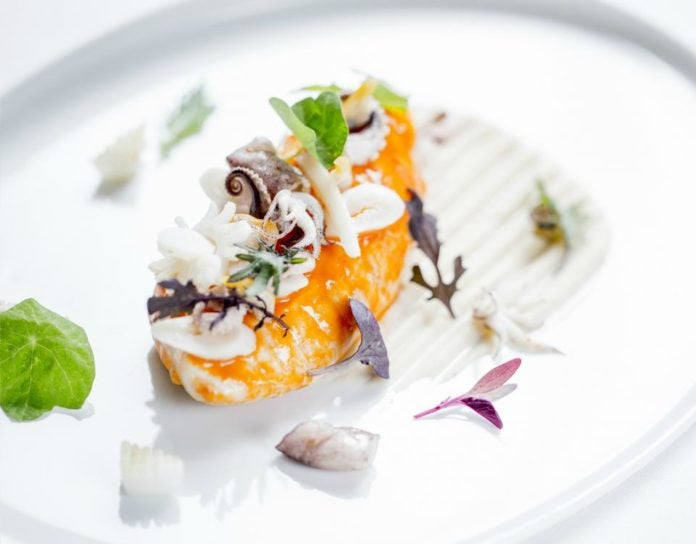 Michelin starred restaurants in London, Alain Duccase food