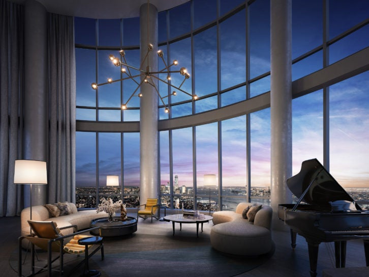 Penthouse at Fifteen Hudson Yards New York