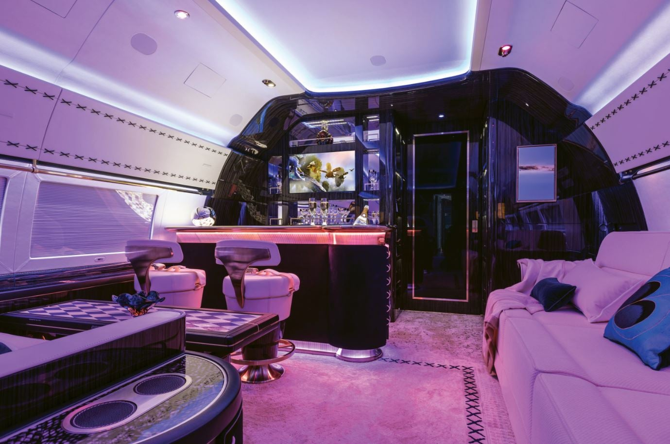 Flying Home A Jet Interior By Winch Design Elite Traveler