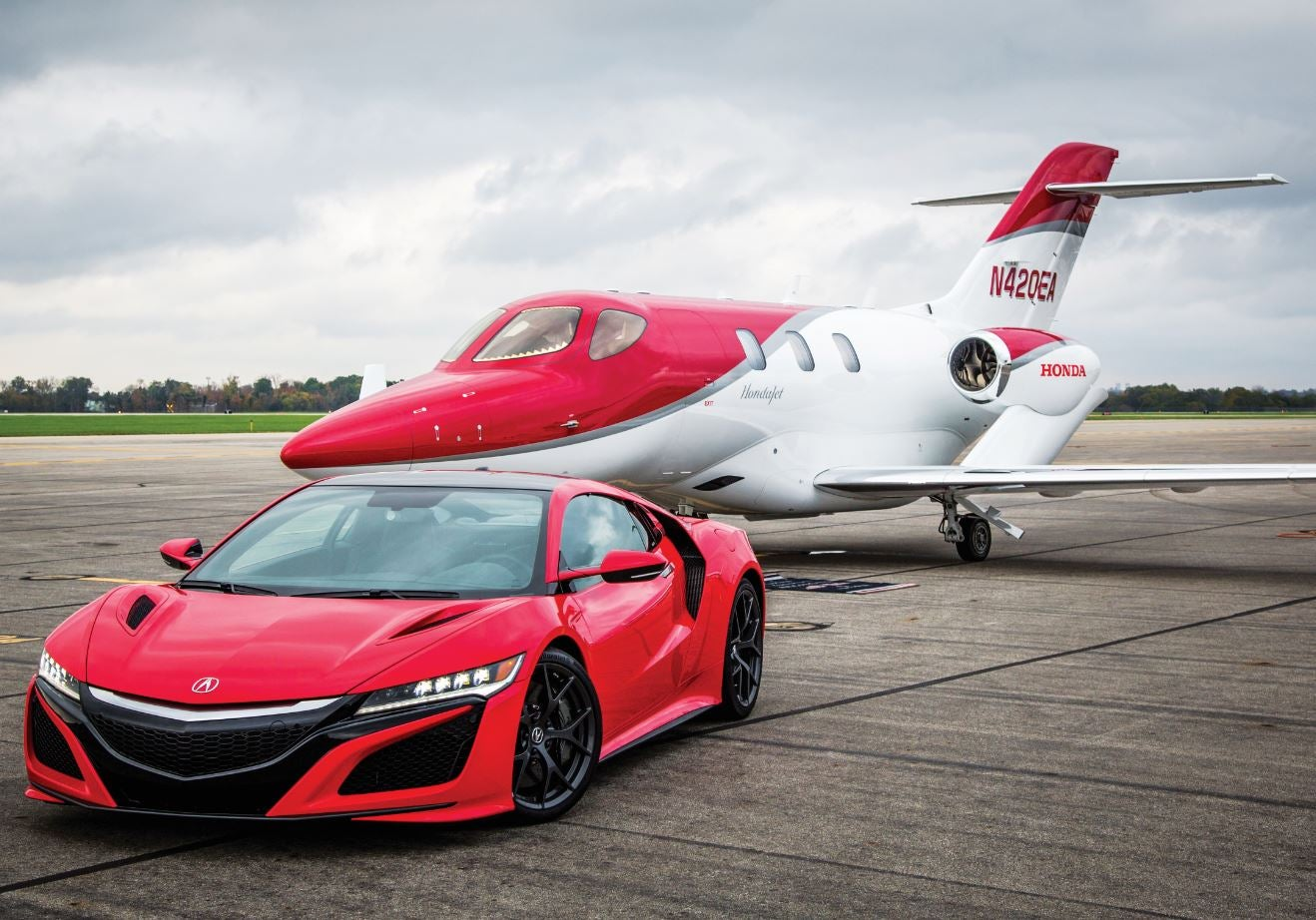 Acura and HondaJet Team Up for High-Octane Experience | Elite Traveler