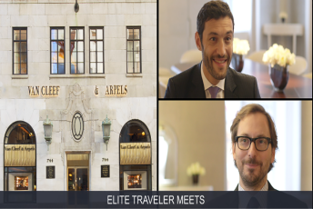 Elite Traveler Meets Van Cleef & Arpels Global CEO Nicolas Bos and CEO of the Americas Alain Bernard
